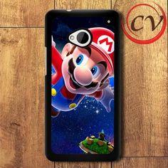 Supermario HTC One M7 Black Case