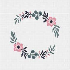 Cross Stitch Heart, Cross Stitch Borders, Simple Cross Stitch, Cross Stitch Flowers, Modern Cross Stitch, Cross Stitch Designs, Cross Stitching, Cross Stitch Embroidery, Cross Stitch Patterns