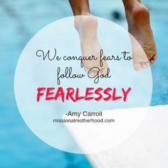 """""""Helping Children Overcome Fear"""" (missionalmotherhood.com)   Read along as Amy shares how her family walked the difficult road of childhood fear and anxiety, and after seeking God and help through Christian counseling, were able to help her son overcome this very real struggle."""