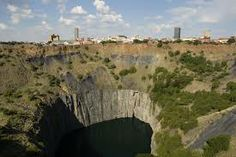 The magestic Big Hole, Kimberley, Northern Cape.
