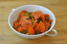 Piure de morcovi cu usturoi copt si chimen | Savori Urbane Wiener Schnitzel, Red Velvet, Watermelon, Salsa, Side Dishes, Yummy Food, Yummy Recipes, Cooking, Healthy