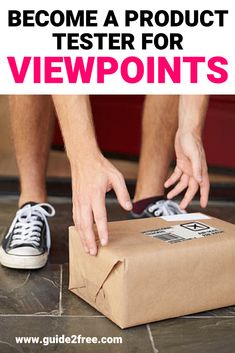 Apply to Test FREE Products from ViewPoints! Viewpoints is looking for product … Work From Home Jobs, Make Money From Home, How To Make Money, How To Become, Get Free Stuff, Free Baby Stuff, Online Earning, Online Jobs, Become A Product Tester