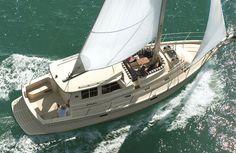Ocean cruising sailboat / open transom / 3-cabin SP CRUISER MK 2 Island Packet