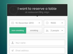 Create Reservation Overlay  Ui Ux Ui Design And Dashboard Design