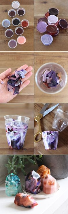 DIY Gemstone Soap Kit
