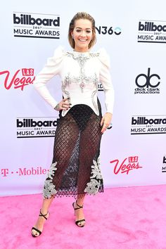 Rita Ora attends the 2017 Billboard Music Awards at T-Mobile Arena on May 21, 2017 in Las Vegas.