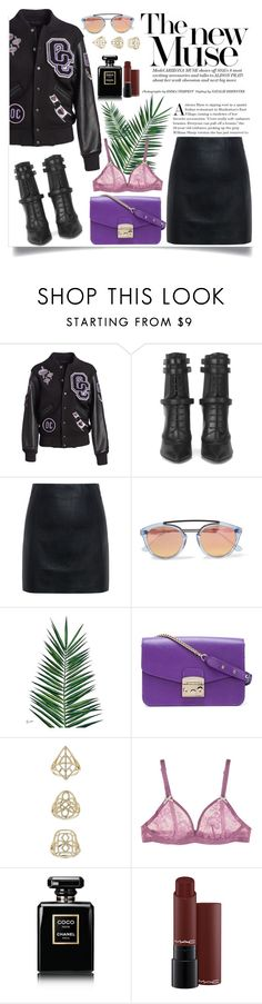 """Best of October"" by yumi-aug ❤ liked on Polyvore featuring Opening Ceremony, BOSS Hugo Boss, McQ by Alexander McQueen, Westward Leaning, Nika, Furla, Topshop, STELLA McCARTNEY, Chanel and modern"