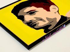 Algunos retratos convertidos en arte pop. Podemos hacer lo mismo con tus fotografías favoritas www.elsurdelcielo.com