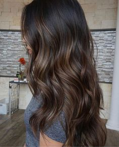 Brown Hair Colors Ideas For Winter Gray Hair Sytles - Brown Hair Colors Ideas For Winter By Admin Posted On Gorgeous Long Shiny Hair Is A Sign Of Good Health Feminine Wellbeing Beautifulhair Posted In Balayage Hair Tagged Balaya Brown Hair Balayage, Hair Color Balayage, Subtle Balayage Brunette, Chocolate Brown Hair With Highlights, Partial Balayage Brunettes, Brunette Hair Colors, Dark Brown Hair With Highlights Balayage, Babylights Brunette, Dark Brown Hair With Caramel Highlights