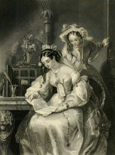 Ducollet, Josephine - Reading Letter Over Shoulder -2a