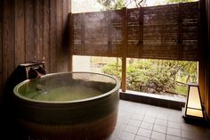 Japanese Hot Springs, Jacuzzi, Japanese Bathroom, Hyogo, Japanese House, Japanese Design, Tiny Living, Home Fashion, New Homes