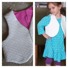 I made the waistcoat to my daughter.