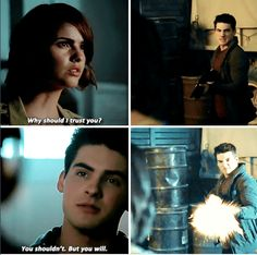 #TeenWolf #5x14 - It was me wasn't it? You picked up a chemo signal. Probably regret. Because I didn't really wanna do this but I didn't have a choice.