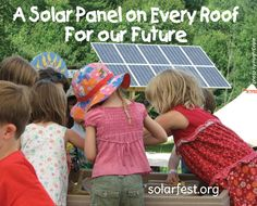Instead of a chicken in every pot, what America really needs is a solar panel on every roof.