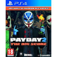Payday 2 The Big Score PS4 Game   http://gamesactions.com shares #new #latest #videogames #games for #pc #psp #ps3 #wii #xbox #nintendo #3ds