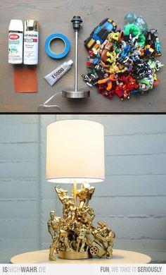 originelle geschenke zum vatertag selber basteln alkochol flaschen in lampen verwandeln. Black Bedroom Furniture Sets. Home Design Ideas