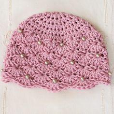 Ravelry: Vintage Pearl Baby Hat pattern by Olivia Kent Crochet Baby Hats Free Pattern, Crochet For Kids, Diy Crochet, Vintage Crochet, Knitting Patterns, Crochet Patterns, Crochet Hats, Potholder Patterns, Knitting Ideas