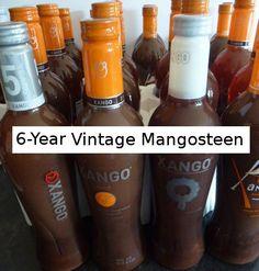 Xango The Juice VINTAGE 6-YEAR fifth 750ml glass bottle Mangosteen health energy #XanGo