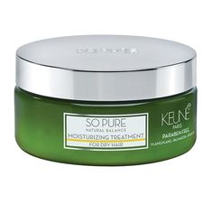 Keune So Pure Moisturizing Treatment.Intensive treatment for dry, porous and damaged hair. Penetrates deep into the hair to restore the moisture balance. Which Shampoo Is Best, Healthy Scalp, Dull Hair, Organic Essential Oils, Canal E, Damaged Hair, Sephora, Moisturizer, Pure Products