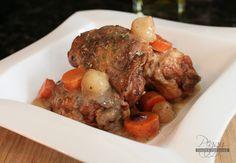 Balsamic Chicken & Onions {Electric Pressure Cooker Recipe}
