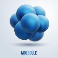 Abstract molecules design.