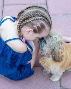 65 young girl's braid hairstyles mother could try for their princess - Page 9 of 32 - Beautrends Young Girls Hairstyles, Black Girl Short Hairstyles, Camping Hairstyles, Summer Hairstyles, School Hairstyles, Braided Hairstyles Updo, Cute Hairstyles, Updo Hairstyle, Braided Updo