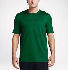 Nike NikeLab x RF Mens Crew Pocket Shirt S Green 826889 302 Roger Federer   Nike 1043cd213b77
