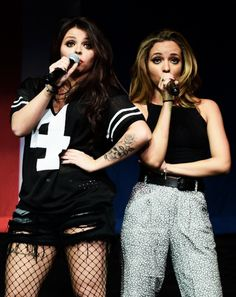Jesy Nelson and Jade Thirlwall // Little Mix