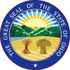 Shop Ohio state seal america republic symbol flag plate created by anamariatudor. Bar Lounge, Republic Symbol, Badge, Student Loan Forgiveness, The Buckeye State, State Of Ohio, Buckeye Nut, Youngstown Ohio, Warren County