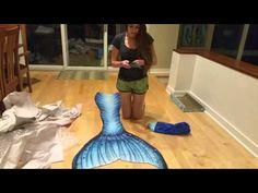 Merbella Studios mermaid tail unboxing - YouTube