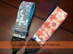 being erica: Camera Wrist Strap How-To