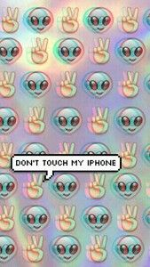 DON'T TOUCH MY IPHONE