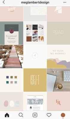 Social Media Instagram, Instagram Feed Layout, Instagram Grid, Instagram Design, Instagram Story Ideas, Graphic Design Brochure, Branding Design, Ig Feed Ideas, Insta Layout