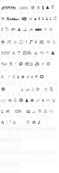 13 Best Free- Dingbats images in 2016 | Free dingbat fonts