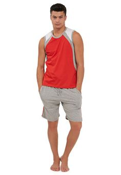 Outdoor brings you this knitted vest & shorts set made from comfortable cotton fabric. #Namshi #comfortwear #menswear