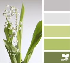 Wedding colors schemes spring design seeds ideas for 2019 Colour Pallette, Color Palate, Colour Schemes, Color Combos, Green Palette, Design Seeds, Palette Verte, Palette Design, Colour Board