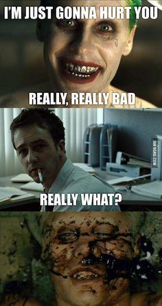 How joker lost his teeth