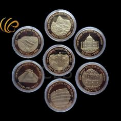 Possto New Wave   Wholesale New Sev...  http://www.possto.com/products/wholesale-new-seven-wonders-of-the-world-24k-gold-plated-coin-series-set-of-7pcs-best-gift?utm_campaign=social_autopilot&utm_source=pin&utm_medium=pin