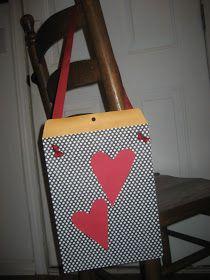 Classroom DIY: DIY Valentine's Day Card Holder