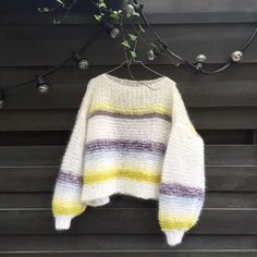 Done ✔️ #minmote #linelangmogenser Loom Knitting, Knit Crochet, Pullover, Instagram Posts, Sweaters, How To Wear, Handmade, Crocheting, Clothes