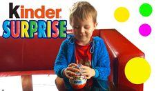 Марк открывает Kinder Сюрприз Maxi/ Mark opens Kinder Maxi Surprise