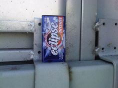 In a Magnetized Gum Tin | Community Post: 19 Ridiculously Creative Geocache Containers