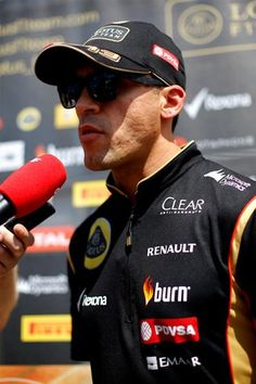 Pastor Maldonado Lotus F1 Team German GP 2014