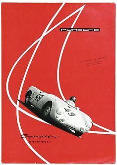 that911, megadeluxe: 1955 Porsche Spyder Type 550