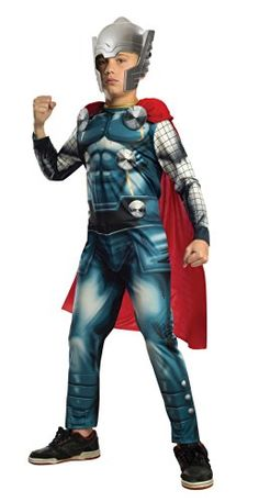Marvel Universe Avengers Assemble Thor Costume Medium -- Check out this great product-affiliate link.