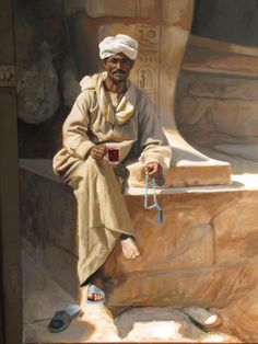 Egyptian life painting