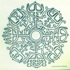 "Nordic compass.... So gonna get this between my shoulder blades! ""if one wears this symbol, one will never lose ones way in hard times, even if the way is not known."""