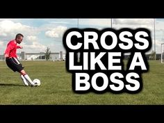 How to cross a soccer ball or football ► Soccer tips for crossing with q...