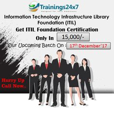 #ITIL #Certification #Training Join us our #Upcoming #Training: