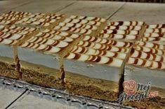 Příprava receptu Krémové karamelové řezy, krok 1 Cake Bars, Tiramisu, Decorative Boxes, Ethnic Recipes, Tiramisu Cake, Decorative Storage Boxes